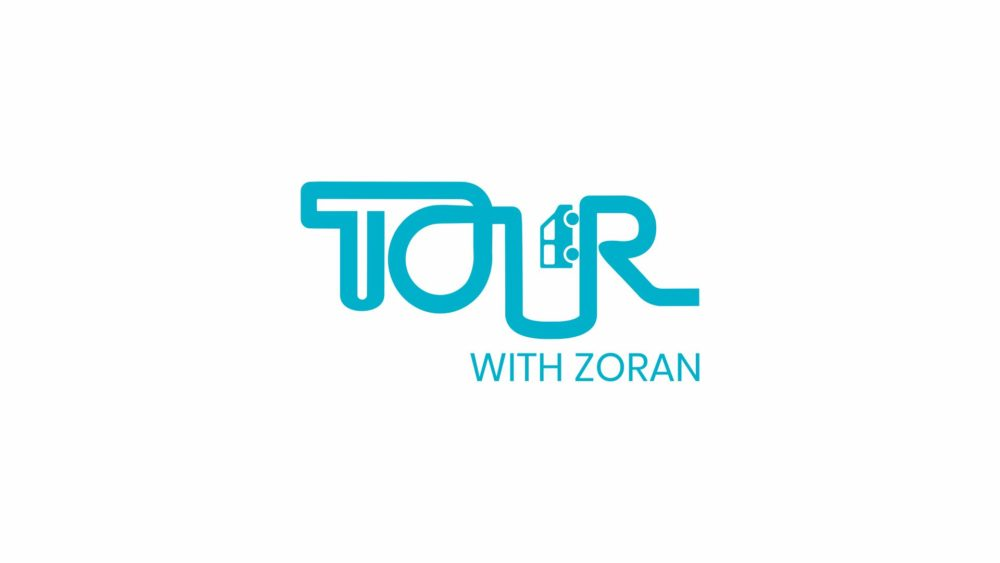 tour with zoran logo