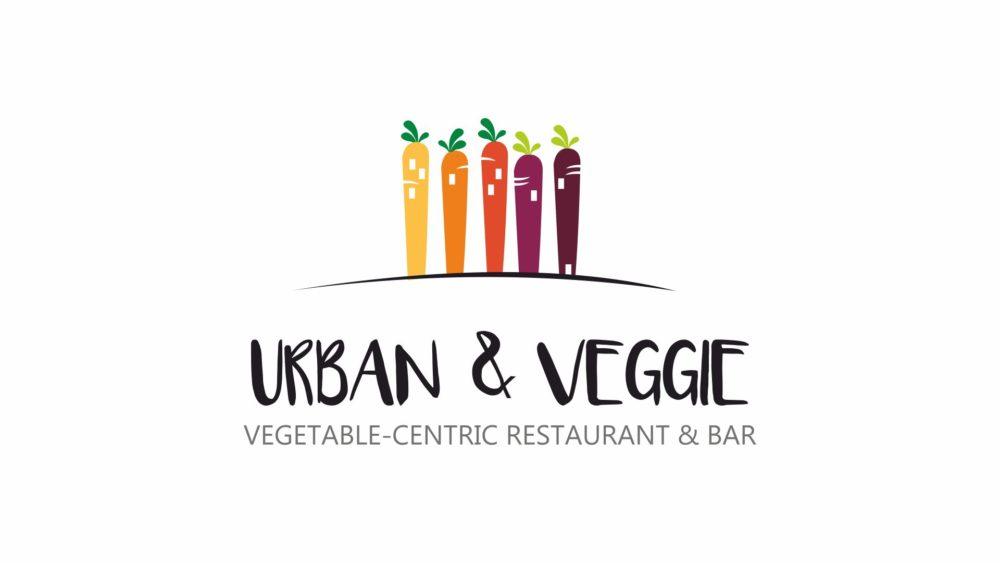 urban & veggie logo