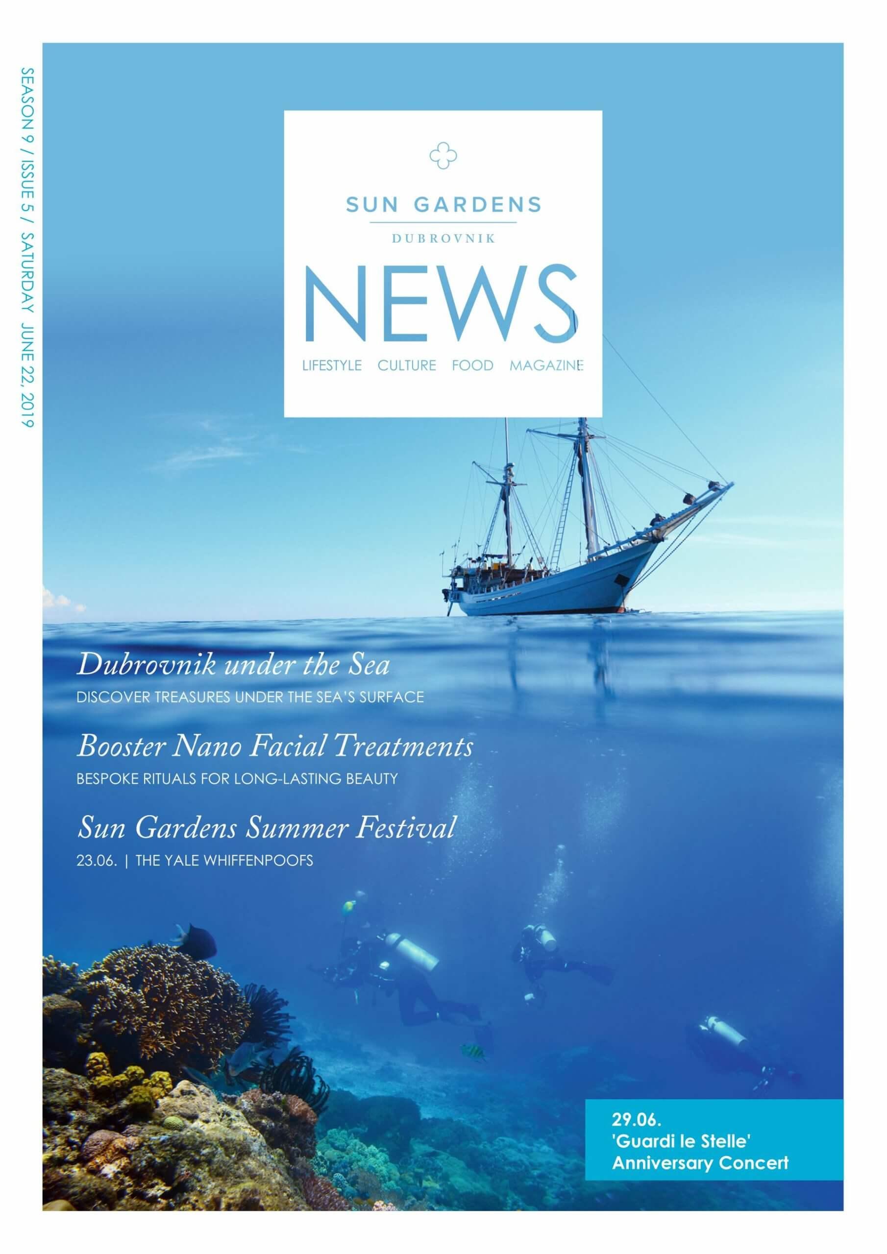 Sun Gardens Dubrovnik – tjedne novine